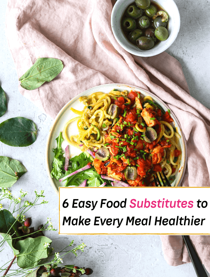 6 Easy Food Substitutes to Make Every Meal Healthier - Everything Abode