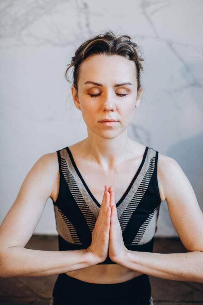 Meditate to keep a calm mind.