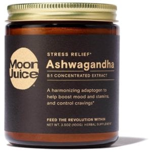 Beginner's Guide To Adaptogens And How To Kick Off Coffee! Ashwagandha Moon Juice www.Everythingabode.com