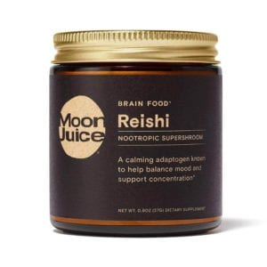 Beginner's Guide To Adaptogens And How To Kick Off Coffee! Reishi Moon Juice www.Everythingabode.com