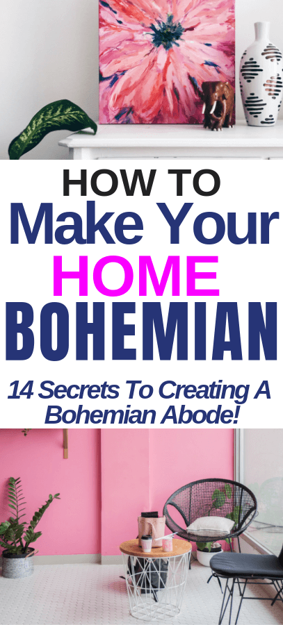 How To Make Your Home Bohemian And Hippie! 14 Secrets To Creating A Bohemian Abode! bohemian bedroom, bohemian style, bohemian decor. #boho #bohemian #design #interiors #styling