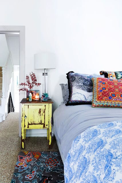 Image by decordemon - eclectic home of designer camilla www.everythingabode.com #bohemian #abode #styling #homehacks