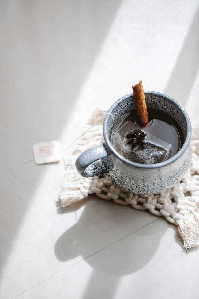 Habits for a Sparkling Clean Home - use table coaster