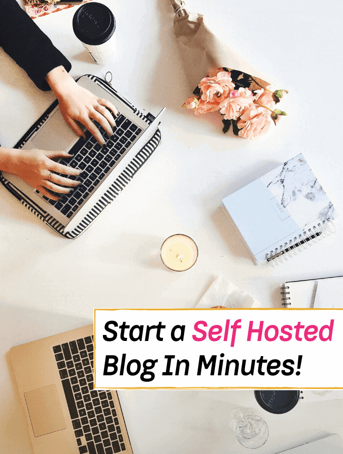 How to Start a Self- Hosted Blog In Minutes - Everything Abode