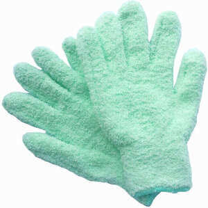 micro fiber glove for dusting your home! how to keep your home sparkling clean
