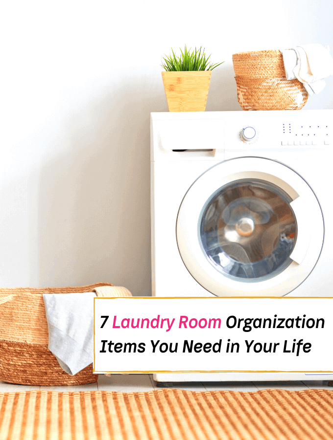 7 Laundry Room Organization Items You Need in Your Life - Everything Abode