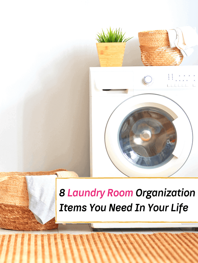 8 Laundry Room Organization Items You Need In Your Life - Laundry room organizing - Everything Abode