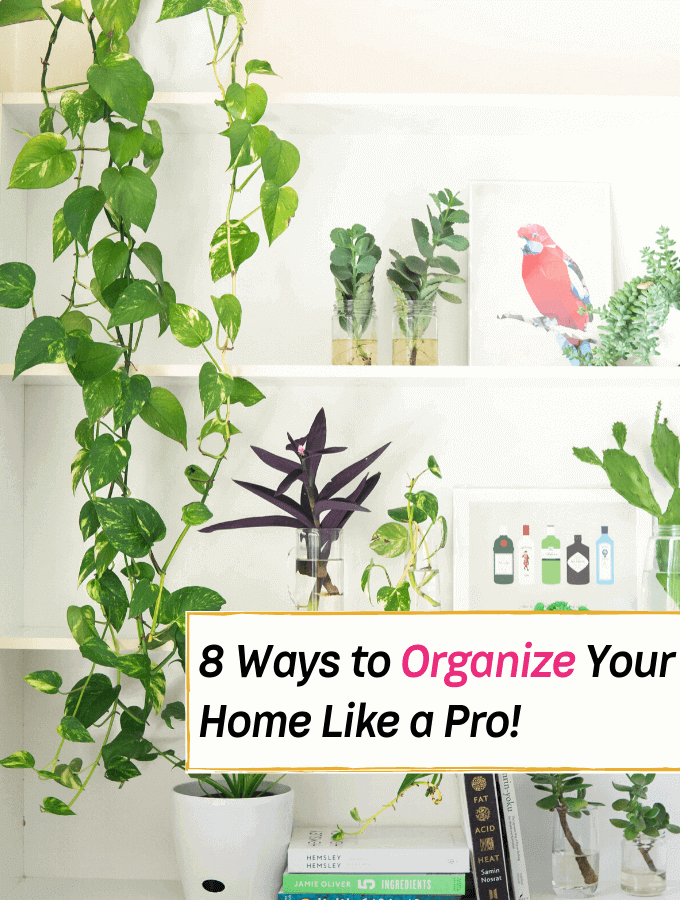 Organize Your Home Like a Pro with These 8 Solid Organizing Rules! - Everything Abode