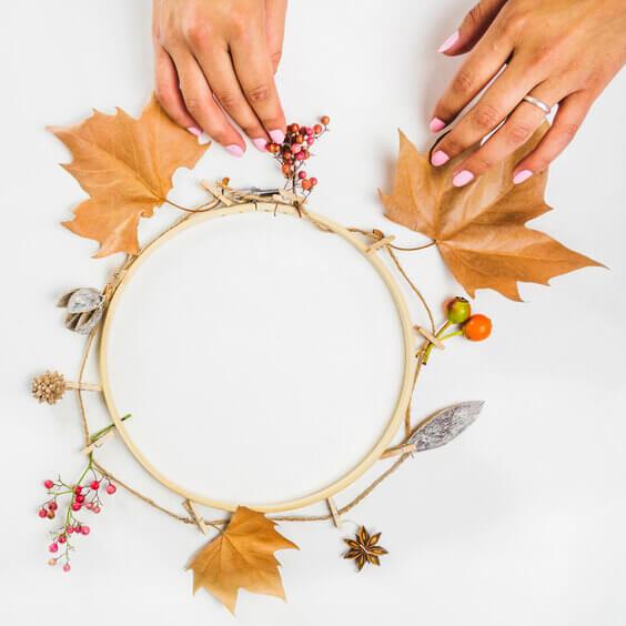 fall wreaths to make, DIY fall wreaths
