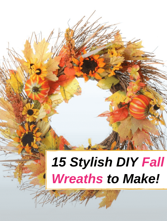 15 Stylish and Inexpensive DIY Fall Wreaths to Make!