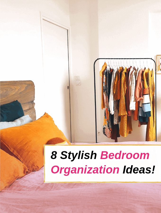 8 Bedroom Organization Ideas That Are Smart and Stylish via @everythingabode