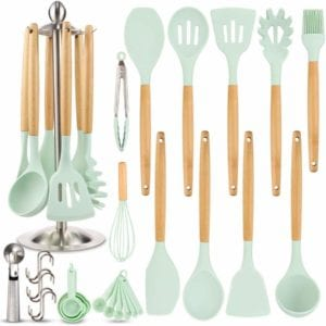 Silicone Kitchen Cooking Utensil Set