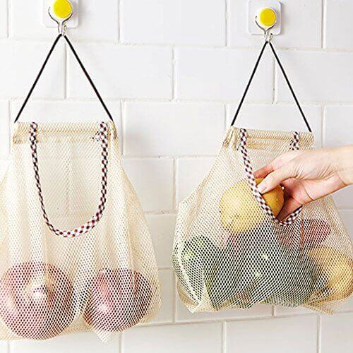 Wall-Mounted Onion & Garlic Baskets via @everythingabode