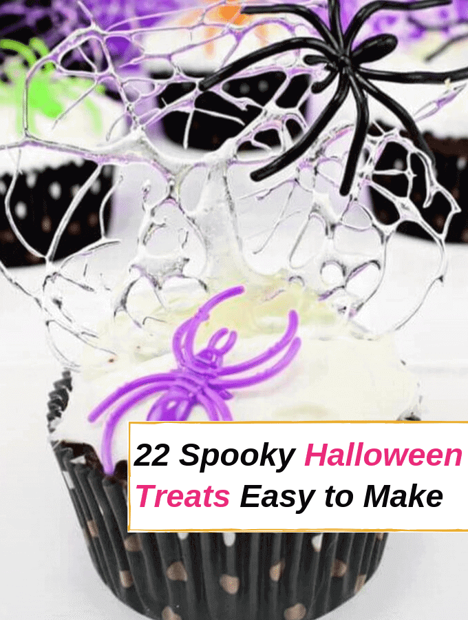22 Spooky Halloween Treats Easy to Make via @everythingabode