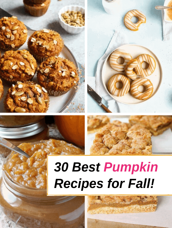 30 Best Pumpkin Recipes for Fall! via @everythingabode