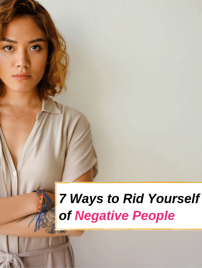 7 Ways to Rid Yourself of Negative People via @everythingabode