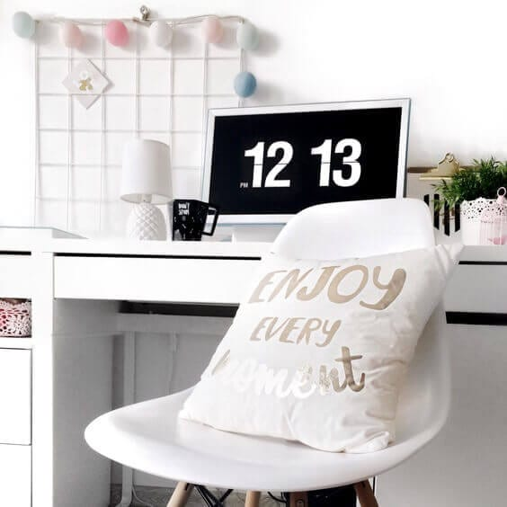 8 Productivity Tips for Those Who Work from Home via Everything Abode