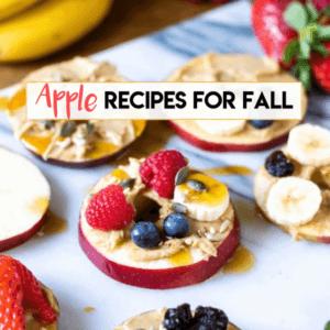 Apple recipes for fall via @everythingabode