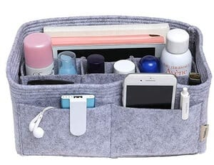 Get an insert organizer for your purse