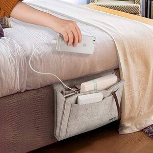 Keep your bedside essentials neatly organized all in one spot.