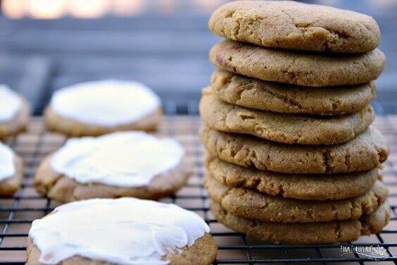 Pumpkin Spice Cookies – Gluten Free and Vegan via @everythingabode