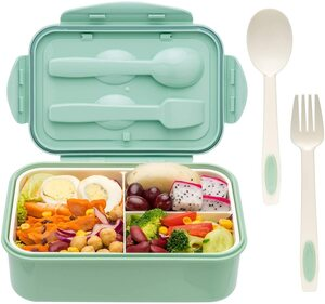 Start packing a bento lunch box for work.