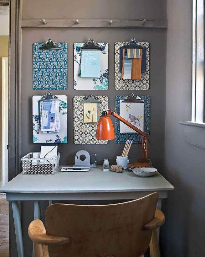 drjamesghoodblog.com - clip boards for easy home organizing