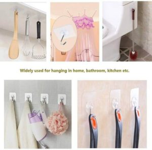 simple to use adhesive hook for kitchen organization - Everything abode