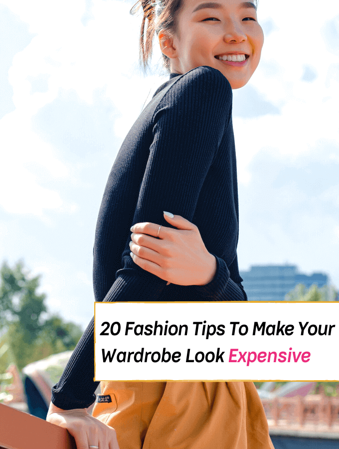 Fashion Tips That'll Make Your Wardrobe Look Expensive -- Everything Abode