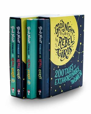 Good Night Stories for Rebel Girls - Gift Box Set 200 Tales of Extraordinary Women - Everything Abode