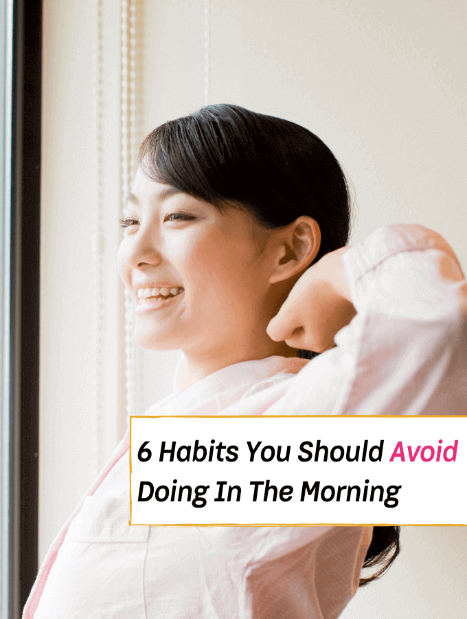 6 Habits You Really Should Avoid Doing In The Morning, bad morning habits to stop