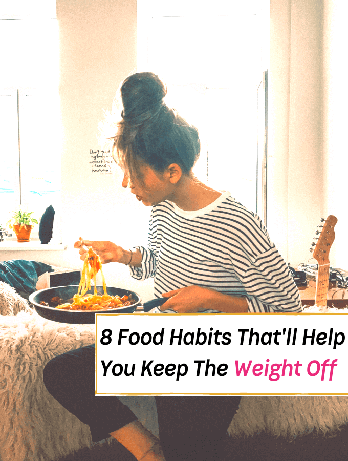 8 Healthy Habits That'll Help You Keep The Weight Off -- Everything Abode