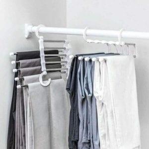 Closet Organizer Space Saver Clothing Rack - Everything Abode