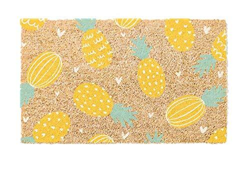 Natural Coir Doormat - Pineapples - Everything Abode