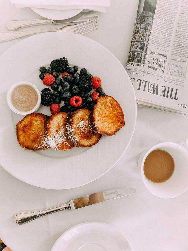 Skipping breakfast. morning habits to stop doing - Everything Abode