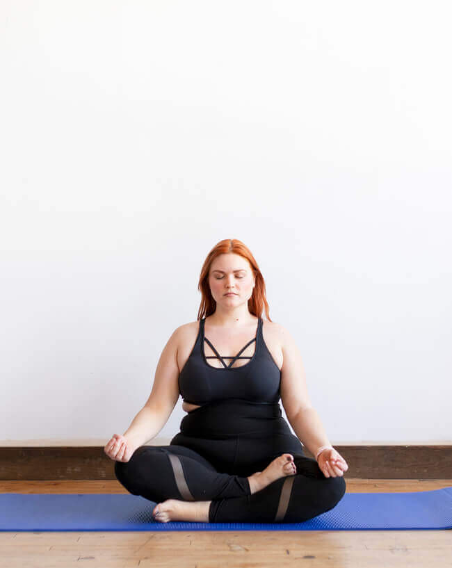 meditate as one of your self care sunday rituals - Everything Abode