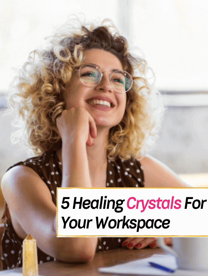 5 Healing Crystals That Can Turn Your Office into a Positive Space -- Everything Abode