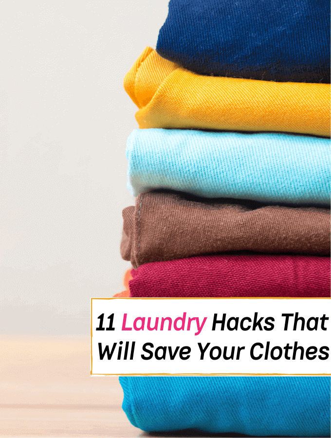 11 Laundry Hacks That Will Make Your Clothes Look Better (& Save You Time) -- Everything Abode