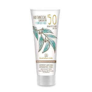 Australian Gold Botanical Sunscreen Tinted Face BB Cream SPF 50, 3 Ounce Medium-Tan Broad Spectrum Water Resistant Vegan