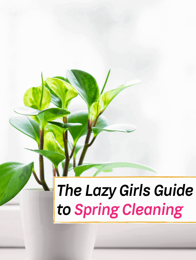 The Lazy Girls Guide to Have a Happy Spring Cleaning Day - Everything Abode