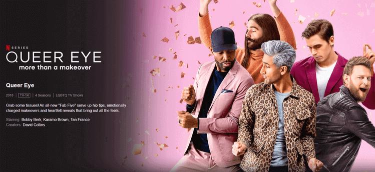 Queer eye - 10 Best Netflix Binge-Watching Shows to Watch at Home