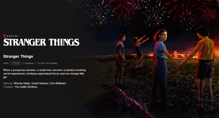 Stranger Things -10 Best Netflix Binge-Watching Shows to Watch at Home