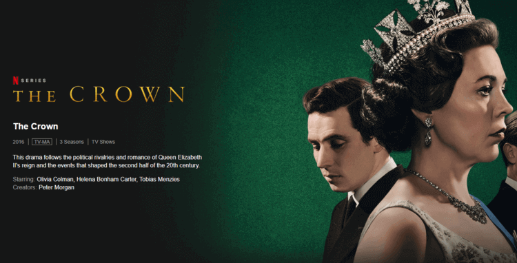 The Crown 9 Best Netflix Binge-Watching Shows to Watch at Home