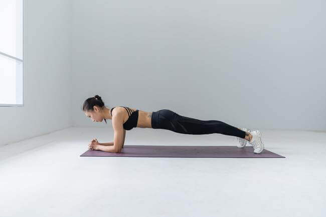 The Plank for at home stomach fitness - Everything Abode