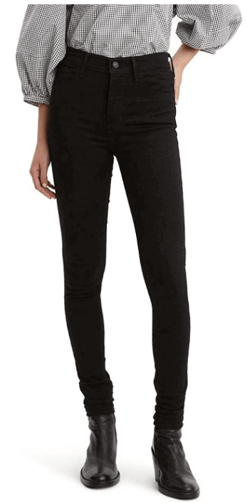 Dark skinny jeans to look more attractive. Choose the Darkest Color For the slimmest look