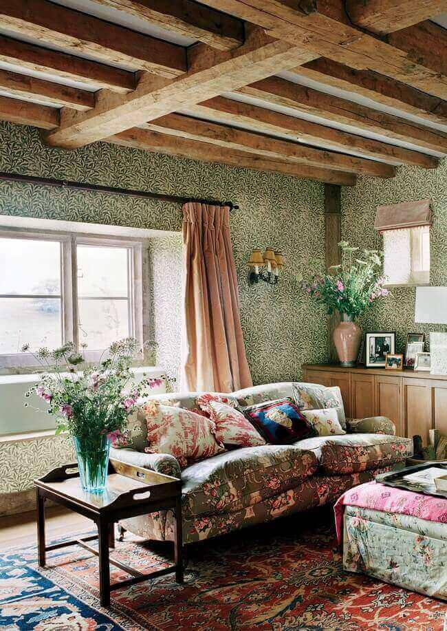 (Photo François Halard for Vogue) for cottage home styling How to Redecorate your home in English Cottage Style