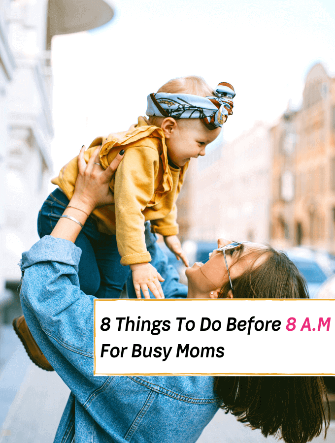 The Best Morning Routine For Busy Moms 8 Things To Do Before 8 A.M --- Everything Abode --- morning routine for mothers