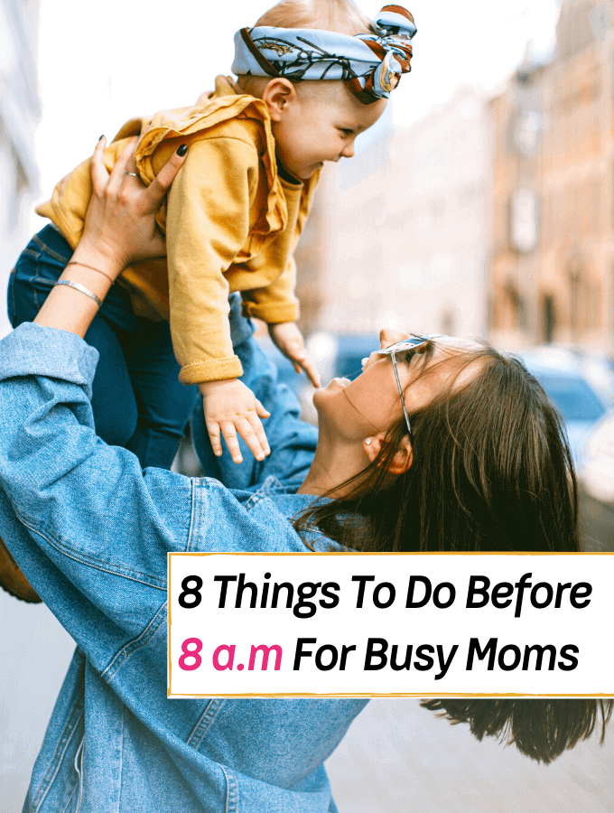 The Best Morning Routine For Busy Moms 8 Things To Do Before 8 a.m - Everything Abode