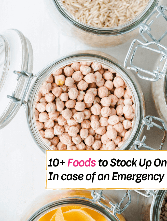 10+ Pantry & Food Items to Stock Up On In case of an Emergency ----- Everything Abode