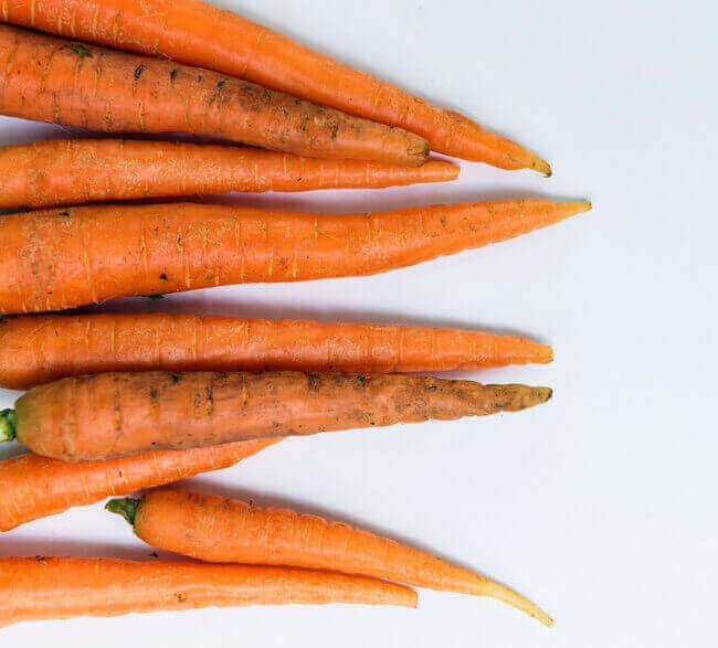 Grow Carrot tips for salads from scraps - Everything Abode